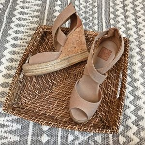 Tory Burch Frieda Espadrille Wedge Sandal Strappy